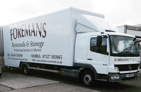 Foremans Man With a Van